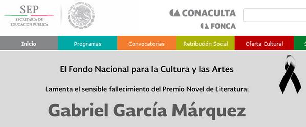 Lo bueno es que están encargados de la difusión de la cultura en México. Sientan desesperanza. Mucha. http://t.co/MyZhlXbeaL