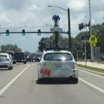 RT @mysuncoast: The Google Street View car is still tooling around #Sarasota. Here it is today, spotted on 301 approaching downtown. http://t.co/q8osfgXNJl