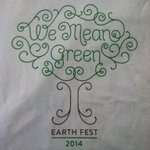RT @freefoodatUNT: Happy Earth Day! Come to Earth Fest in the Library Mall today! 4-7pm. Get this shirt! #freefood #unt #EarthDay2014 http://t.co/YEzAANkpei