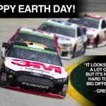 """@3MRacing: @gbiffle @NASCARgreen effort: http://t.co/RMMTKVSFb2 #EarthDay http://t.co/xiWp4X4eL2"" Working in the right direction! :)"