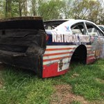 Ol Texas mud run fireball is at the farm ready for the crash cemetery. #junkcollector http://t.co/T81OSamKER