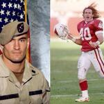 Pat Tillman, who gave up his NFL career  to defend his country died 10 years ago today. http://t.co/QzksFk8hch