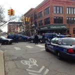 RT @annarbornews: RT @Kyle_Feldscher: Apparent police chase ended at Main and Liberty: http://t.co/lB10sLOcdL
