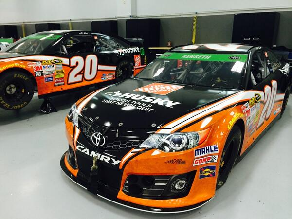 Our No.20 @HomeDepot #Husky Toyotas are getting ready to be loaded up for this weekend @RIRInsider! #LetsDoThis http://t.co/2GX2FMiev8