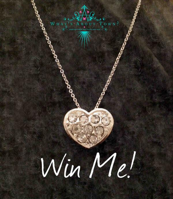 Win this Crystal Heart Friendship necklace just RT and Follow ends Midday Monday 28th April #competition #win http://t.co/dL9P3d9rz0