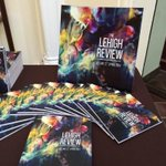 Picking up my copy of the Lehigh Review (vol. 22) at Alumni Memorial Hall. Come get yours until 7pm. http://t.co/8iTQk6x5mp
