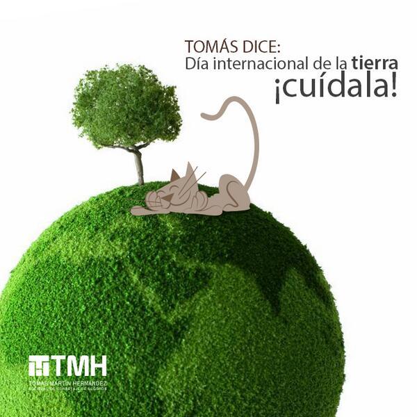 ¡Hoy es el #DíaDeLaTierra! Cuidemos nuestro hogar vía @tmhseguros síguelos en http://t.co/RrCG6IIflR http://t.co/kYUB5ZrzTZ