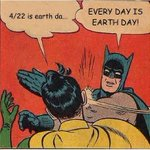RT @AmazonWatch: Tell it, Batman! #Earthday http://t.co/oTQ0H3138G