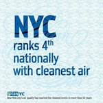 RT @PlaNYC: #NYC #AirQuality cleanest in 50 years & updates to pollution code @PlaNYC #ProgressReport2014 http://t.co/9X7TGYWc5s http://t.co/HB7hsxPtaN