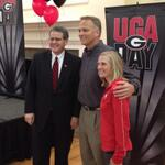 Thanks to @DannaDurante and @MarkRicht for joining UGA President Jere Morehead at the Gainesville UGA Day! http://t.co/SAIHSYJY6I