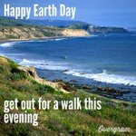 Happy #EarthDay. Get out for a walk this evening to enjoy mother nature. http://t.co/yxrsIQ1WRk
