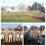RT @kmchugh07: #KStateBSB celebrates its partnership with Ft. Rileys 2-16 Infantry Regiment at tonights game. @USArmy http://t.co/79tjQDvjh5