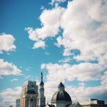 Fluffy clouds and amazing weather! #LoveYourCity #downtownsac #sacramento http://t.co/R0dW8MzEcB