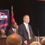 Clawson on stage now. Says Benacquisto called and offered her congratulations. #fl19 @thenewspress #swfl http://t.co/W1ylUmnNKV