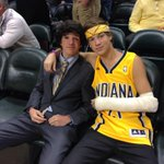 RT @taylorcaniff: Pacer game with the bro!! http://t.co/2gRMweUYkL