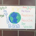 #earthday in #spanish class #lovetheplanet #recycle @nhsnelly http://t.co/vra6tXf4ib