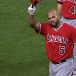Albert Pujols hits his 500th career home run. He is the first player to hit both 499 & 500 in the same game. http://t.co/k37Dqmbkrj