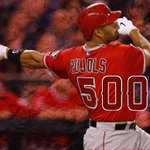 RT @SportsCenter: BREAKING: Albert Pujols hits his 500th career HR on his 2nd HR of the night. http://t.co/PM9WFDQIrH