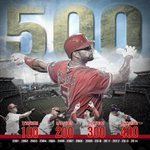 RT @MLBONFOX: 500!!! Congrats, Albert Pujols! The 26th member of the 500-HR Club. http://t.co/5CzLj3qB9d http://t.co/EIZ9ieyRLR