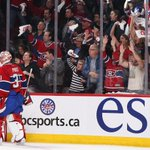 .@CanadiensMTL fans appear to be happy with @CP0031s play through 2 periods. Boxscore: http://t.co/exSfbchf4M http://t.co/qnQb0GV2va