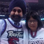 With the Raptors Super Fan, Nav Bhatia. In NY Times today! #wethenorth http://t.co/krSQastuhD