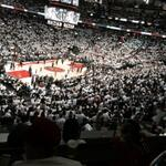 RT @MasterCardCA: The view these lucky cardholders got for the @Raptors playoff game with #PricelessSurprises. http://t.co/SWgZjOCF86