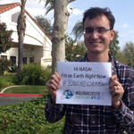 Excited to visit @NASAArmstrong next month. Happy #EarthDay #GlobalSelfie from @WaterofLifeCC Fontana/Rancho http://t.co/E6BInSPhAA