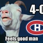 RT @Dr_Habs: Montreal is the first team to advance to the second round of the playoffs. A complete team effort. #GoHabsGo http://t.co/QhtYdazsI4