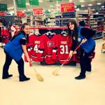 RT @meighenhabs: Weve got our brooms out at Walmart. GO HABS GO BABY!!! SWEEP SWEEP SWEEP :D @CanadiensMTL http://t.co/vaWRXAlpb8