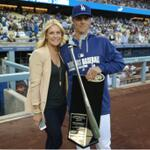 RT @Dodgers: Zack Greinke accepts his 2013 Silver Slugger Award: http://t.co/9rrJySfDuL