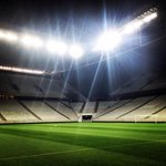 ➊ At night—Brazil World Cup opening arena at 50 days from the tournaments start. [PHOTO] https://t.co/HFuFwhUYum MT @Corinthians