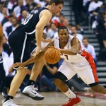 RT @TheTorontoSun: BREAKING: #Raptors win Game 2, beat #Nets 100-95 to even series. http://t.co/9mx4ZBKOD9