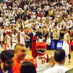 Everyone on their feet in the ACC! #RaptorVSNets #WeTheNorth http://t.co/8zF8FDafaW
