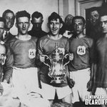 #OnthisCardiffCityDay 87 years ago in 1927 @CardiffCityFC beat @Arsenal 1-0 to win the #FACup at Wembley. http://t.co/LJ6GZ0ctcs