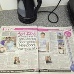 Double page in the sun mate! Britains with you #getsteto1million #stephensstory @_StephensStory http://t.co/Cw2IubfudE