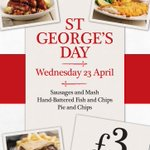 Here it is! #StGeorgesDay offer at @HogsheadWolves Everybody who RTs this will get a follow! http://t.co/BIPhdX1mFF