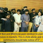 RT @AnjumKiani: The news that GEO refused to show : BLA terror group uses children to explode bombs http://t.co/4g7mcDCF4s #BanGEO http://t.co/djEk2B5627