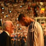 RT @ChrisDuel: Pop wins #NBA Coach of The Year This is my favorite photo of the 17-year Popovich-Duncan era... #GoSpursGo http://t.co/O4sRXDoPrJ