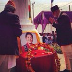 RT @kashishds: Nepals Prime Minister paying his respects to Pasang Lhamu #Sherpa today; 1st #Nepali #woman to summit #Everest (93) http://t.co/2vJt0xi1DV