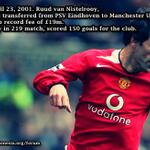 #OnThisDay 2001. @RvN1776 was transferred from PSV Eindhoven to .@manutd. #MUFC http://t.co/mMmFvo6XpS