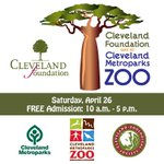 RT @mryjhnsn: FREE admission to @clemetzoo on 4/26, courtesy of The Cleveland Foundations 100th birthday! #ThisIsCLE http://t.co/08HHdFIePt