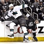 RT @SanJoseSharks: .@Burnzie88 leads the game with seven hits. #WreckingBall http://t.co/nqlKt4wliX