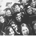 We were trying to beat @TheEllenShow most re-tweeted selfie with a graduation selfie http://t.co/LsKdRtSIfl