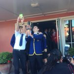 A frenzy of student selfies with @johnkeypm as Hawkes Bay young student leaders meet our PM. http://t.co/EsxmkvRPxu