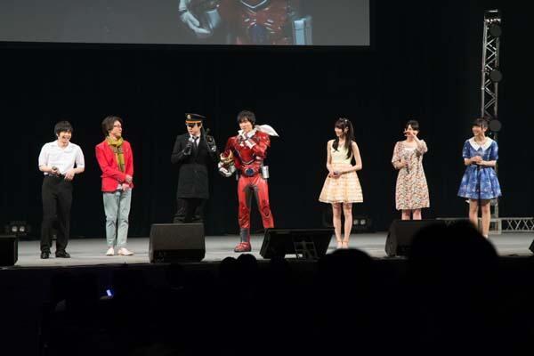 増田さんのヒーロースーツと杉田さんのポリスマン姿をみていると最初の倉花先生のビジュアルそのものにみえてきました。とにかく