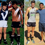 "RT @BreannaBartlett: ""@AFLPlayers: Very cool photo of @CyrilRioli33 & @tcotchin9 when they were young and now #afl http://t.co/m2pWMrYpUs"" @Richmond_FC "