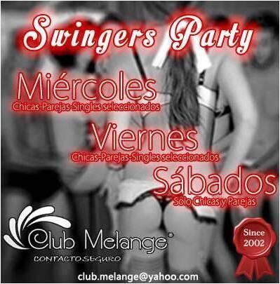 Club Melange (@ClubMelange): MierCachondo y Viernes Sexxual a partir de 10:P.M. Sabados Swinger a partir de 11:P.M. Info: club.melange@yahoo.com http://t.co/QZMxUOxZfW