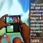 RT @dawn_com: Auction starts for 3G, 4G spectrum licenses | http://t.co/uphFTa4cCB http://t.co/FnzE74ceWN