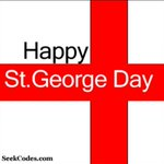 Happy St Georges Day! Fly the flag wear the rose dont be afraid to love your country #england #StGeorgesDay http://t.co/MfUQCvYMUQ