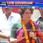RT @timesnow: Priyanka Gandhi continues her fierce counter attack on the BJP in Rae Bareli #India2014 http://t.co/Wi0RU6y1c2
